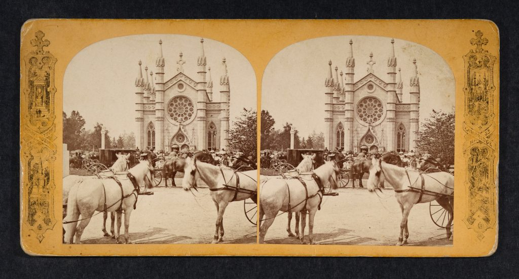 A Historic Stereoview of Bigelow Chapel