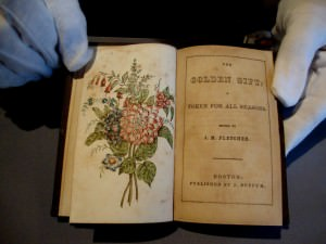 """The Golden Gift: a Token for all Seasons"" J. M. Fletcher, editor. Boston: J. Buffum, 1846."