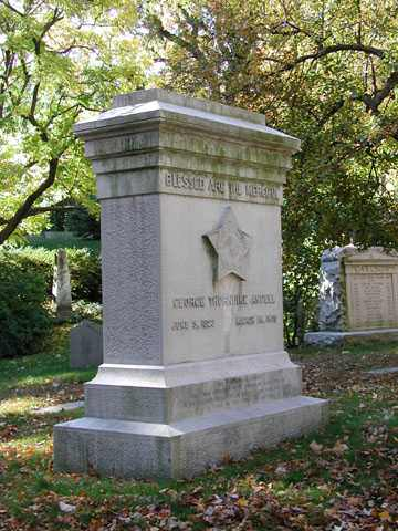 George Angell grave