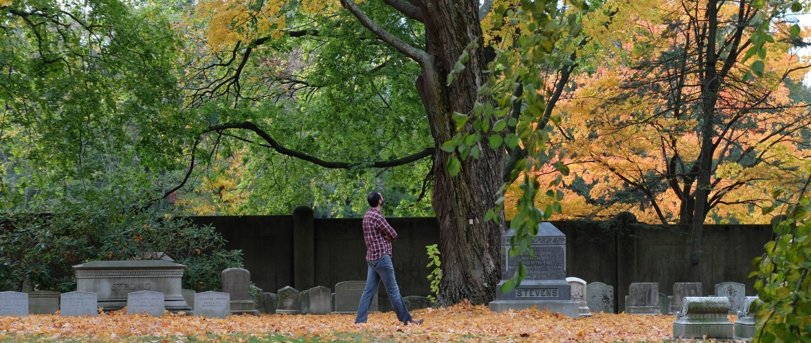 Slide for Fall Foliage at Mount Auburn Cemetery
