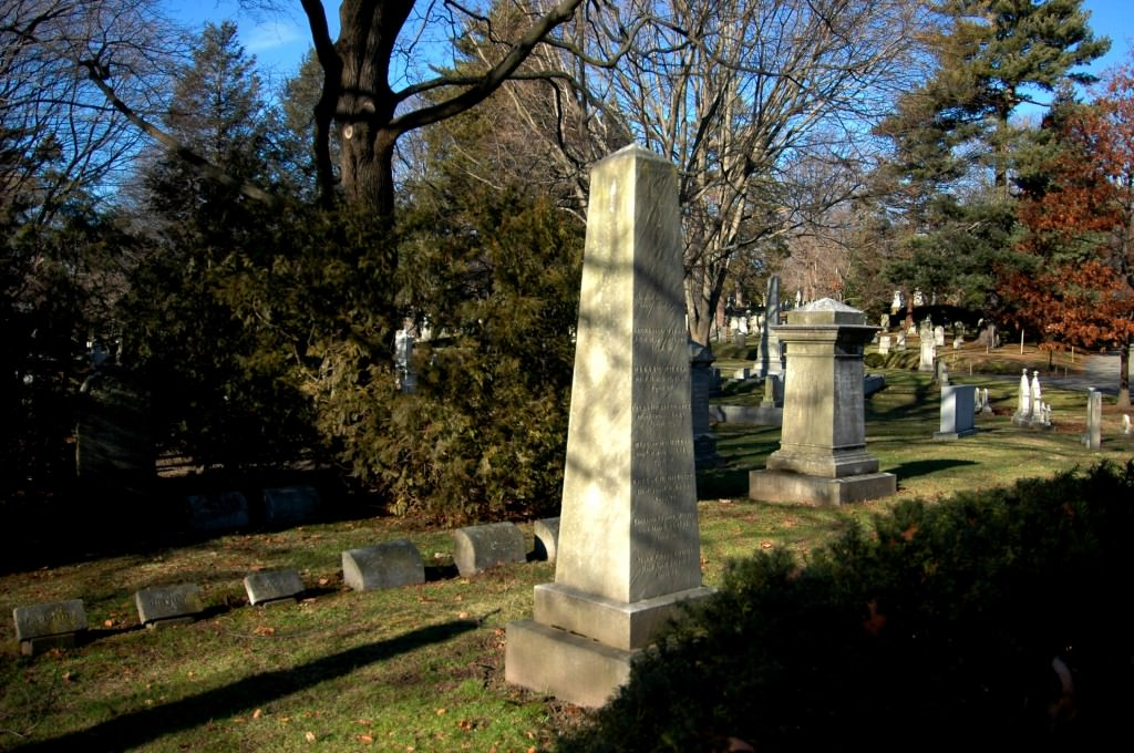 Nathaniel Parker Willis is buried in Lot # 972 on Spruce Avenue at Mount Auburn Cemetery