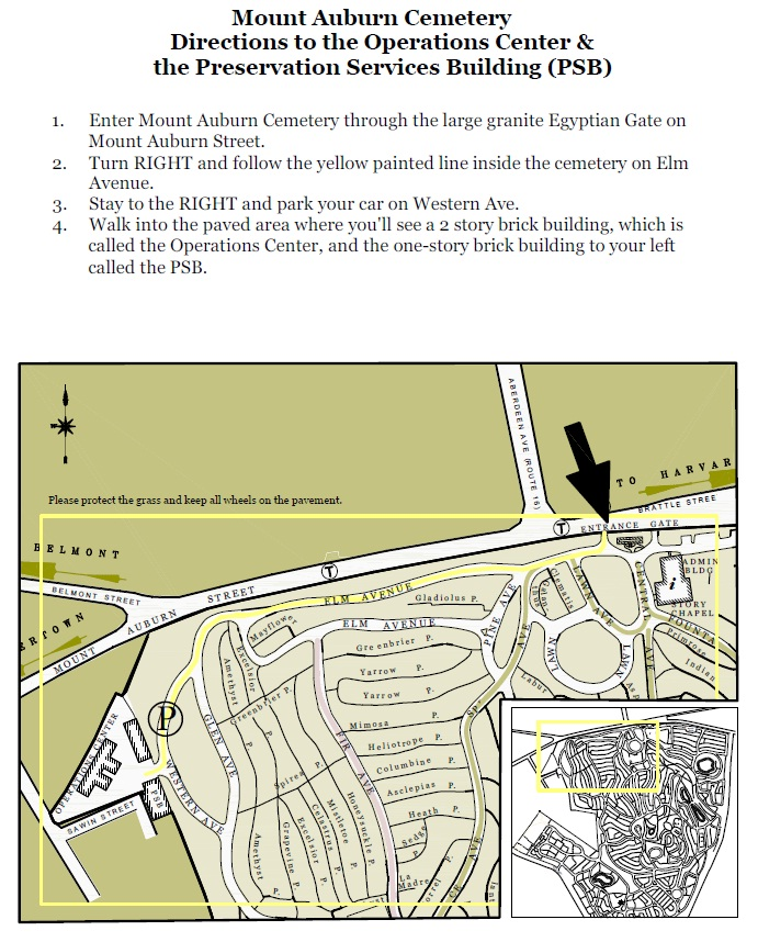 Directions to PSB