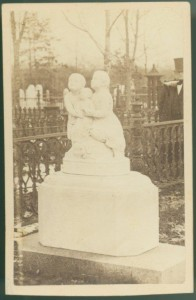 Atkins Monument Carte-de-visite, c. 1860s G. K. Warren