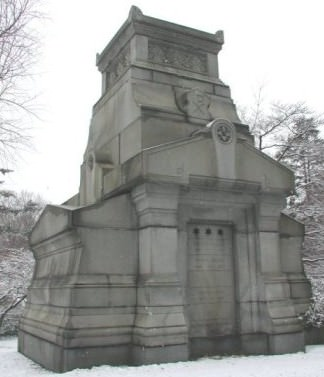 Freeland Mausoleum, Winter 2004