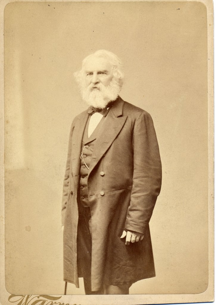 Henry Wadsworth Longfellow. Photo courtesy National Park Service, Longfellow House-Washington's Headquarters National Historic Site