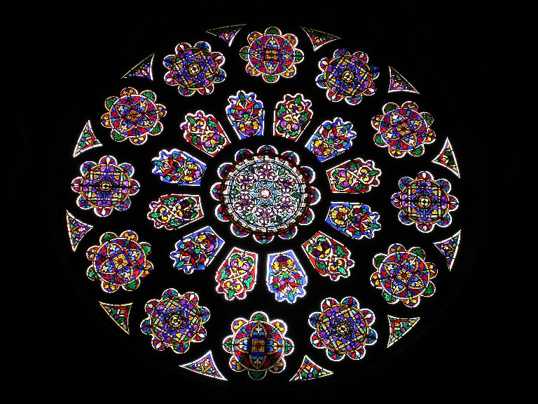 2015 Rose Window photo by V.Raguin