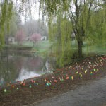 Willow Pond Butterfly Garden - Design Phase, April 2005